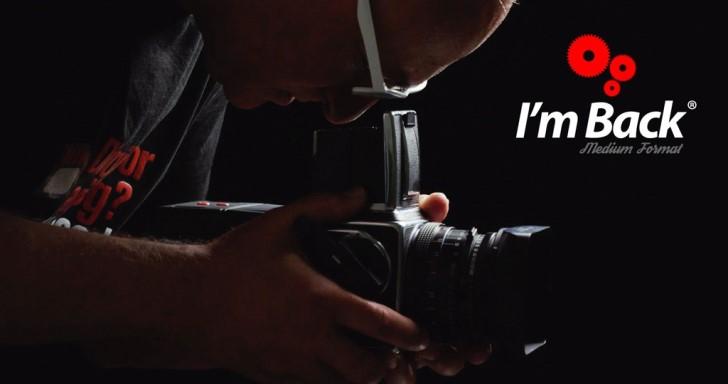 I'm Back又回來了,這次把你的中片幅古董相機變成數位相機