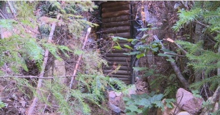 美國一名逃犯在山中自建「地堡」住了3年,還自建太陽能給風扇、收音機和燈供電