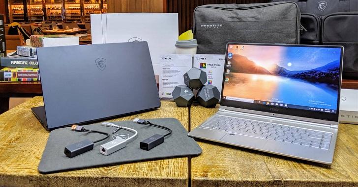 微星 Prestige、Modern 創作者筆電登場,率先搭載 Intel 第十代 Core 系列處理器