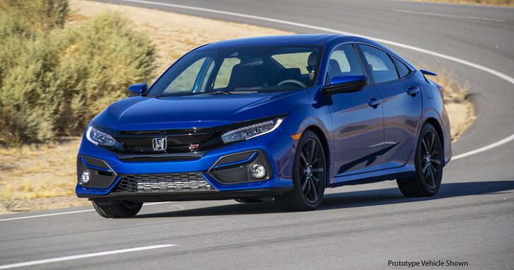 1.5 Turbo 有 200 匹馬力,HONDA Civic Sedan Si 2020 年式登場
