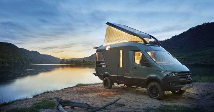 以車為家開這台,Hymer 露營車會比住豪宅還享受?!
