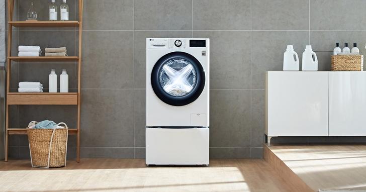 搭載AI與DD直驅變頻科技,LG全新滾筒洗衣機便利再升級