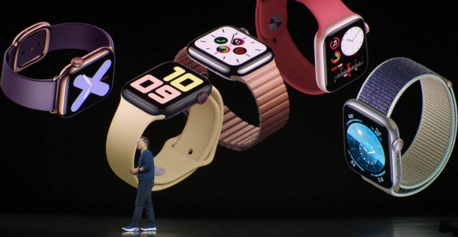 Apple Watch Series 5 登場,具備全時顯示螢幕、9/20 開賣 399 美元起