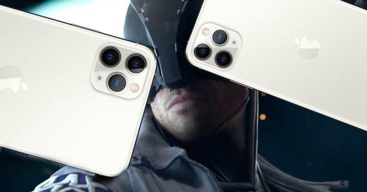 電玩廠商光速「致敬」iPhone 11,有三鏡頭才夠潮