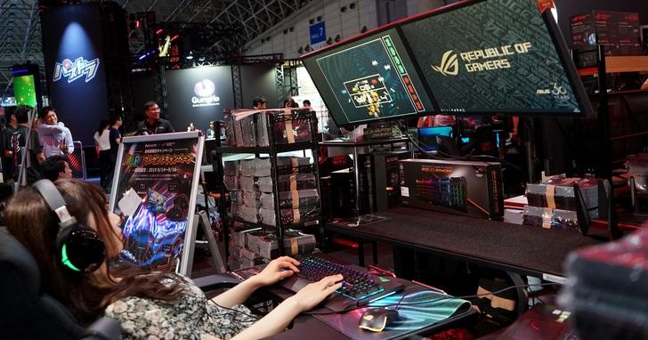 前進2019東京電玩展!ROG攜手Bauhutte打造多元遊戲空間