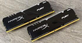 紅外線同步技術下放,Kingston HyperX  Fury RGB DDR4-3466 8GB x 2 16GB kit 雙通道套裝實測