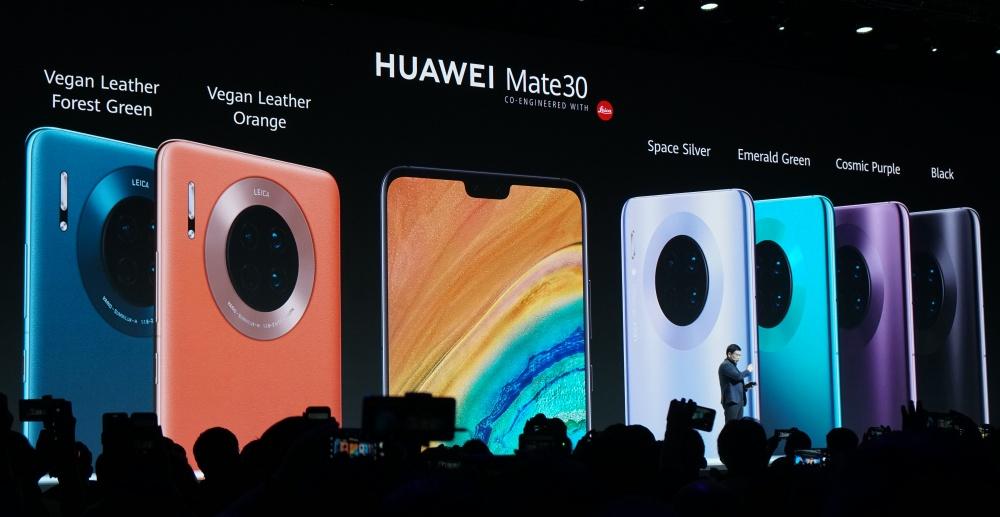 華為新旗艦 Mate 30 / Mate 30 Pro 發表,4800 萬畫素徠卡電影鏡頭、皮質背蓋、兩側無邊框