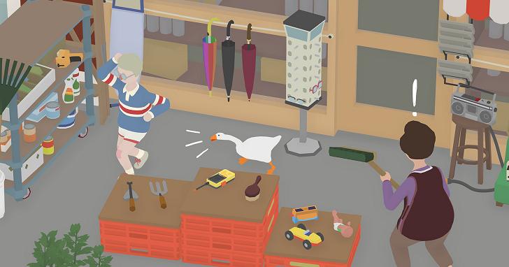 爆紅的整人一隻鵝!鵝作劇《Untitled Goose Game》讓你實現報復社會的小確幸
