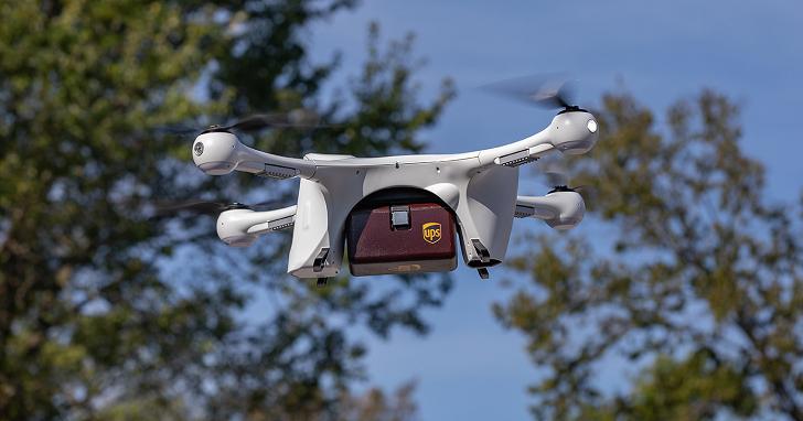 UPS 獲 FAA 批准,成立全球首家「無人機航空公司」,將廣泛提供貨運與快遞服務