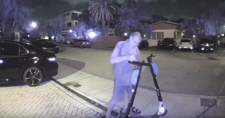 美國佛州一名男子,因惡意剪斷100多輛共享電動踏板車上的剎車線而被捕