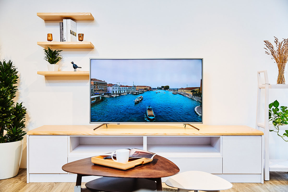享受親子互動的溫馨時光,BenQ 55 吋 Android 智慧電視 F55-710