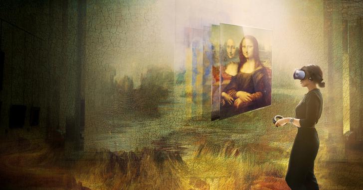 羅浮宮攜手HTC,呈現史上首次蒙娜麗莎虛擬實境體驗