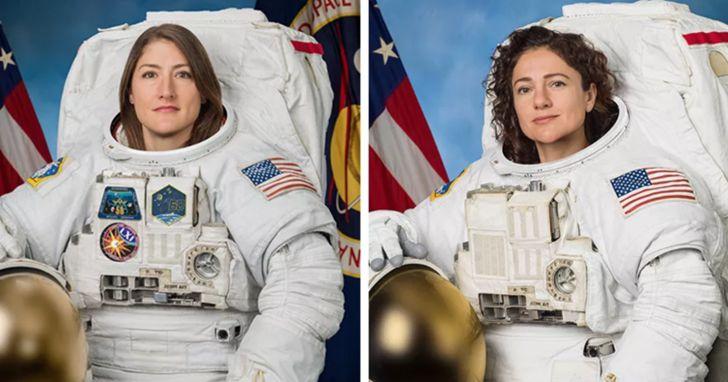 她們創造歷史!人類首次全女性太空人完成太空漫步任務