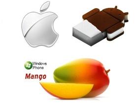 手機大戰:Mango、Android 4.0 和 iOS 5,你選哪一個?