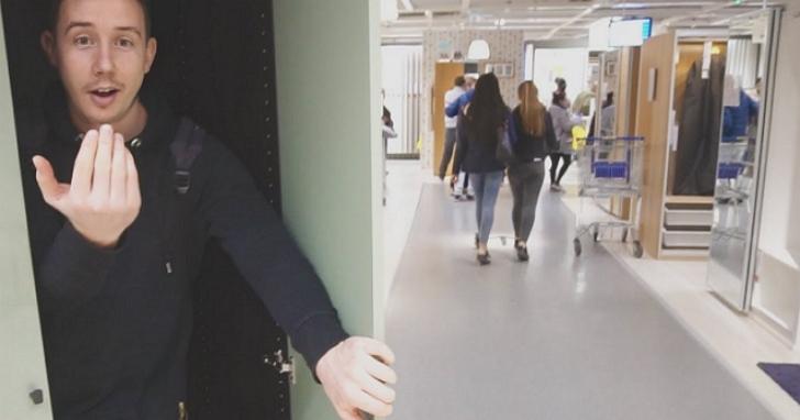 為什麼有人要混進IKEA洗澡、睡覺、拍影片,什麼是IKEA 過夜挑戰?