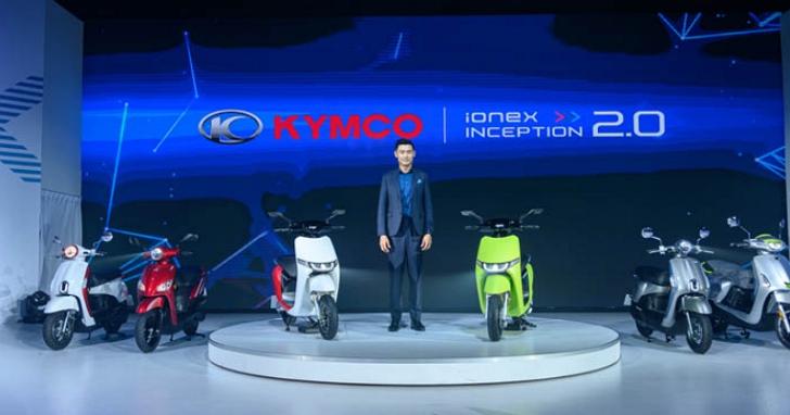 光陽宣布全車系將連續第20年連霸國內銷售冠軍,預告 11/5 將發表新款電動重機 KYMCO RevoNEX