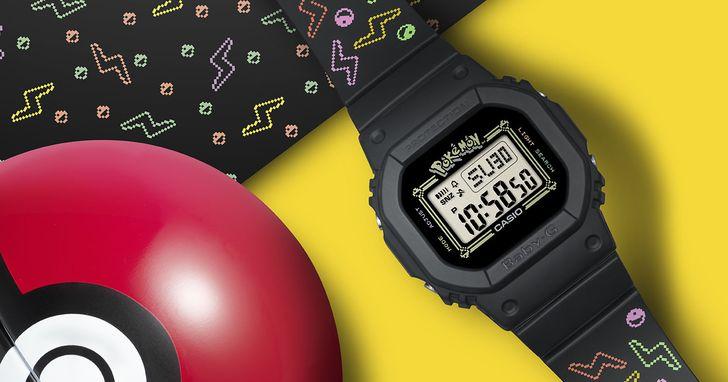 歡度 BABY-G 25 周年,CASIO 推出皮卡丘聯名手錶,並暗藏粉絲才知道的裝飾細節