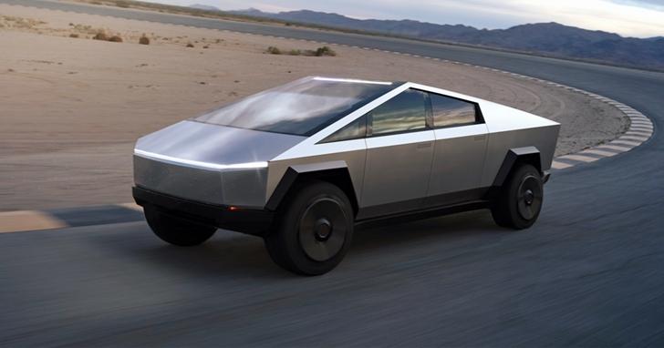 特斯拉的Cybertruck還沒上路,已經有遊戲能飈這輛車