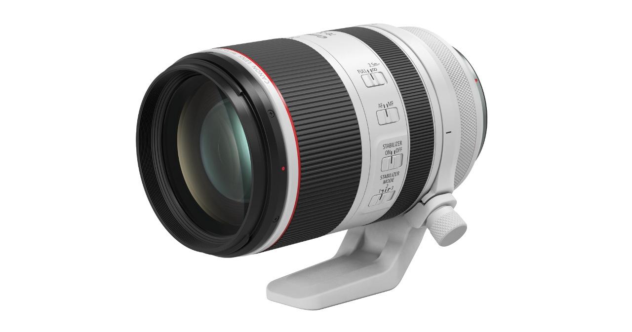 Canon RF 接環大三元終於齊備,RF 70-200mm F2.8 L 售價 76,900 元