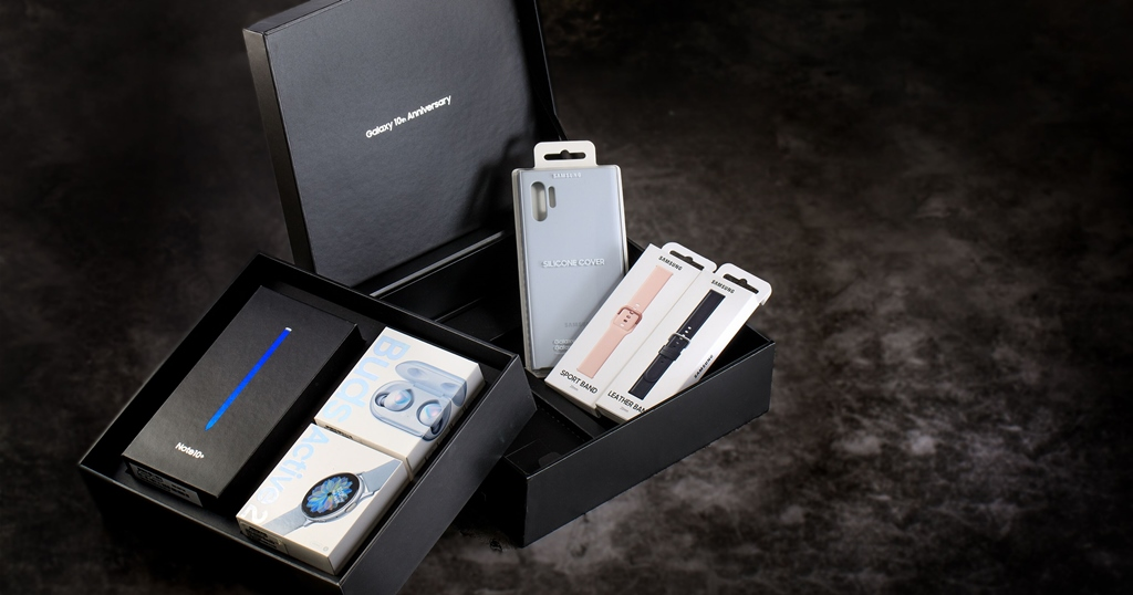 三星歲末手機禮盒登場,手機/手錶/耳機組合四萬五有找、加碼電視買一送一