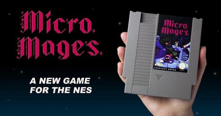 美版紅白機 NES 停產二十多年了,可還有一群人在為它開發新遊戲