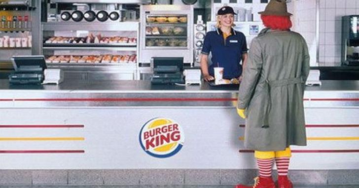 漢堡王說到做到玩真大,拿麥當勞或肯德基當日發票就免費請吃漢堡!