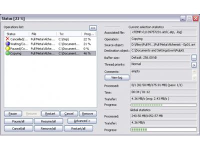 用 Copy Handler 複製多個同名稱,但沒檔案的空資料夾