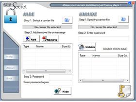 Our Secret:秘密資料藏進普通檔案,被攔截還是很安全