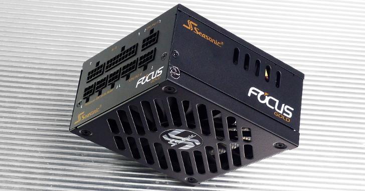 Seasonic 海韻 FOCUS SGX-500 SFX-L 電源供應器開箱簡測,80 PLUS 金牌效率更有 10 年保固