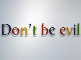 Google 不做邪惡的事情,網路巨人如何建立公司文化