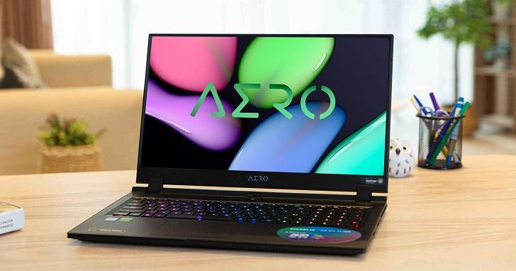 GIGABYTE AERO 17 HDR XA 評測:All Intel Inside 與 NVIDIA Studio 認證,創作與娛樂同時滿足