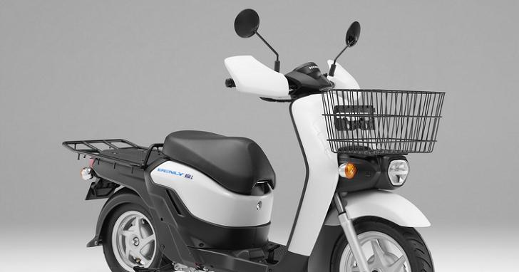 HONDA 也推商用電動速克達,「BENLY e:」4 月日本上市