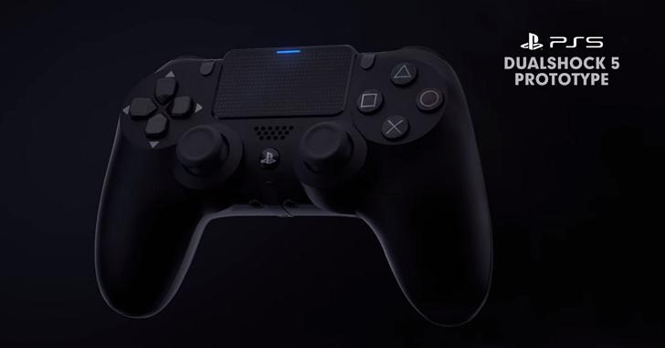 索尼PlayStation新手把設計曝光:多了背面按鈕,讓你每一根手指頭都忙不過來!