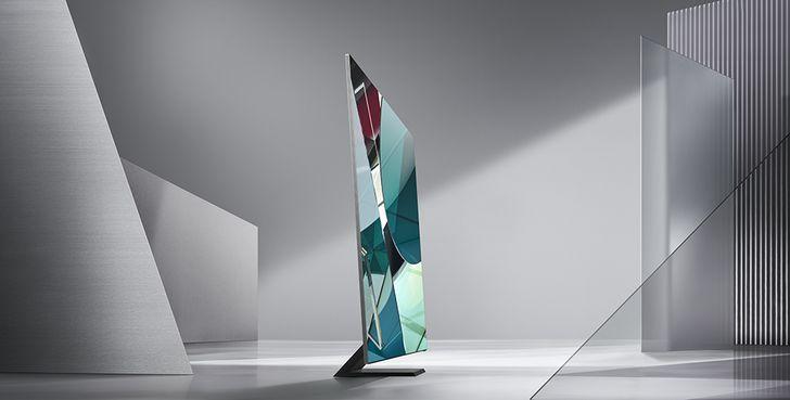 三星發表新一代 QLED 8K TV,搭載全新強化 8K AI 量子處理器,擁有市場最高的 99% 螢幕占比
