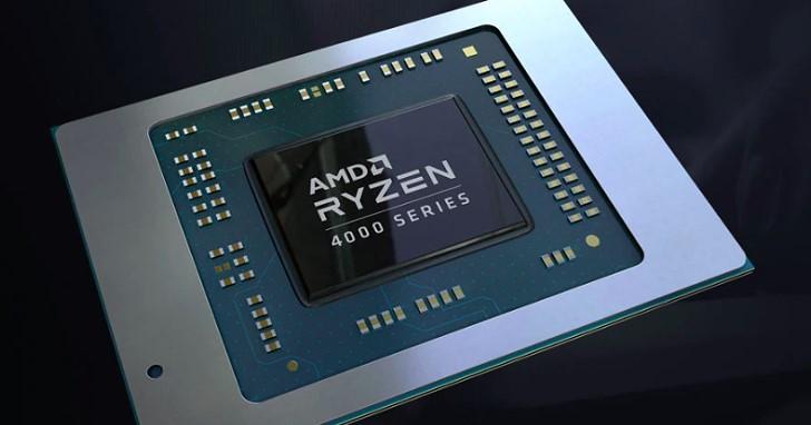 CES 2020:AMD 推出 Ryzen 4000 系列行動處理器,升級 Zen 2 架構、最高實體八核心