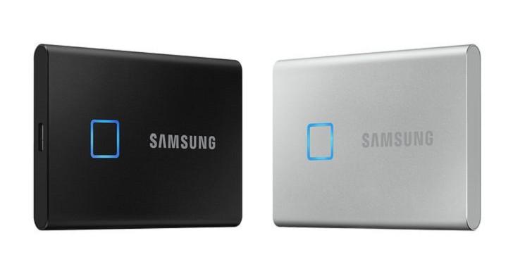 三星推出移動式 SSD T7 Touch,支援 USB 3.2 Gen 2 標準並內建指紋辨識功能