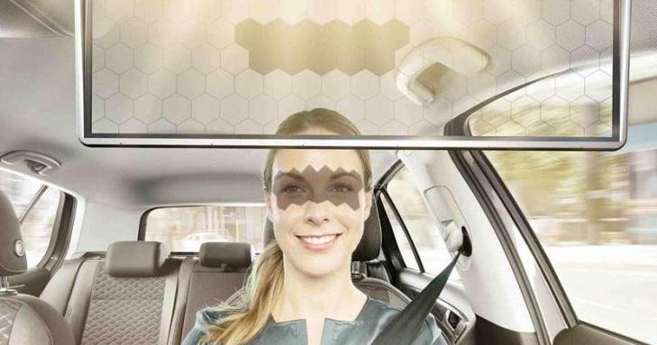擋陽光就一定得擋視線嗎?Bosch 開發出「LED 虛擬遮陽板」兩者兼顧