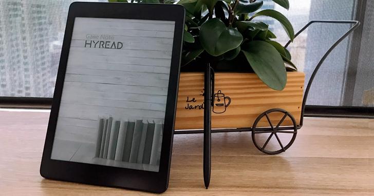 小尺寸也要有筆記功能!HyRead Gaze Note 7.8吋開放系統電子書閱讀器新機開賣