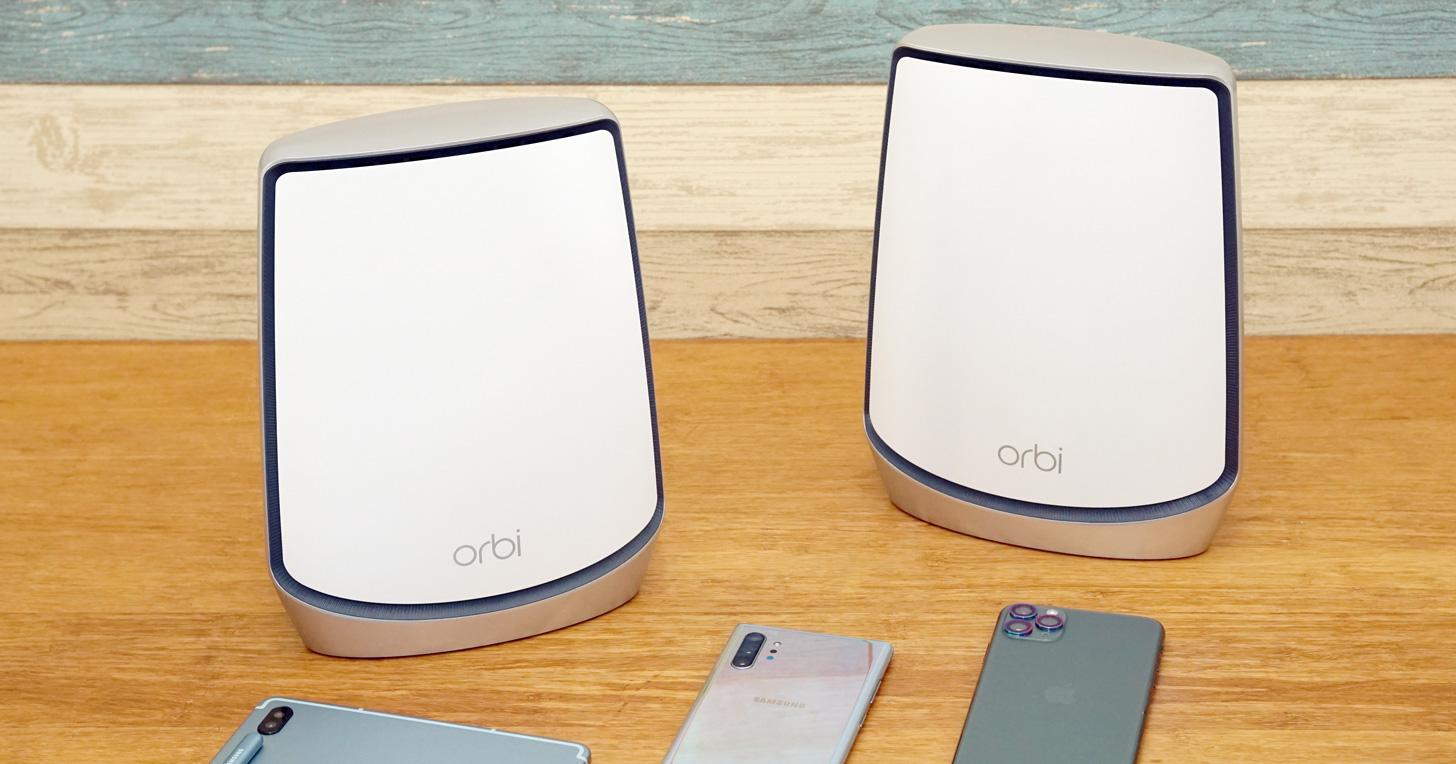 兼具高頻寬與廣域覆蓋能力!NETGEAR Orbi AX6000 三頻 Wi-Fi 6 Mesh 延伸系統(RBK852)開箱與深度評測!