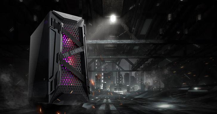 ASUS TUF Gaming GT301中塔緊湊型電競機殼,搶先全球在台上市