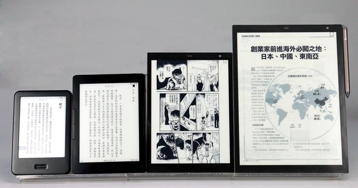 尺寸最大的電子書閱讀器 mooInk Pro 13,A4尺寸的螢幕看雜誌改文件都不用再縮放,還能跨頁看漫畫
