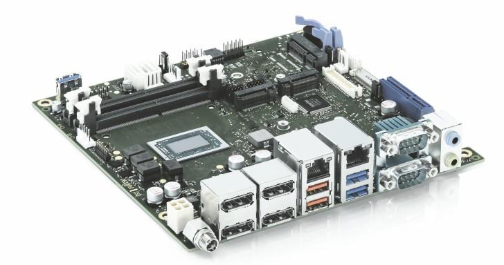Kontron推出D3713-V/R Mini ITX主機板,最高搭載Radeon Vega 11內顯嵌入式Ryzen處理器