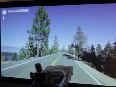 小機器人大夢想,利用 Google 街景開車到太平洋