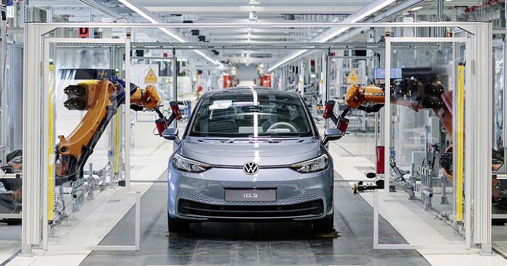 Volkswagen 看好電動車前景,百萬生產目標將可提早兩年達成