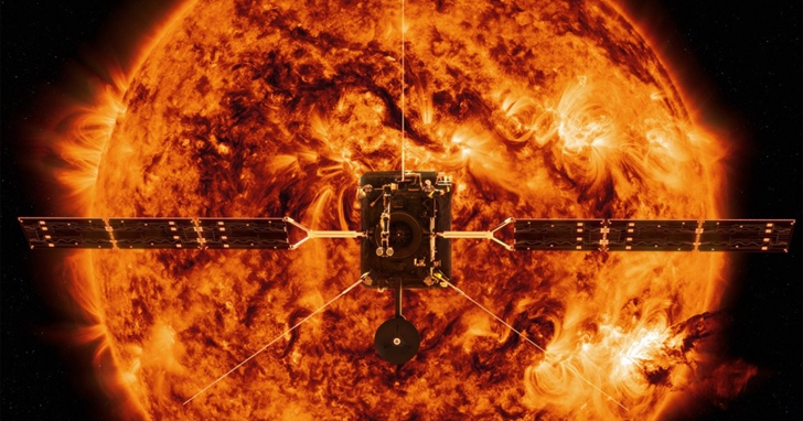 「太陽軌道飛行器」傳回首次測量數據