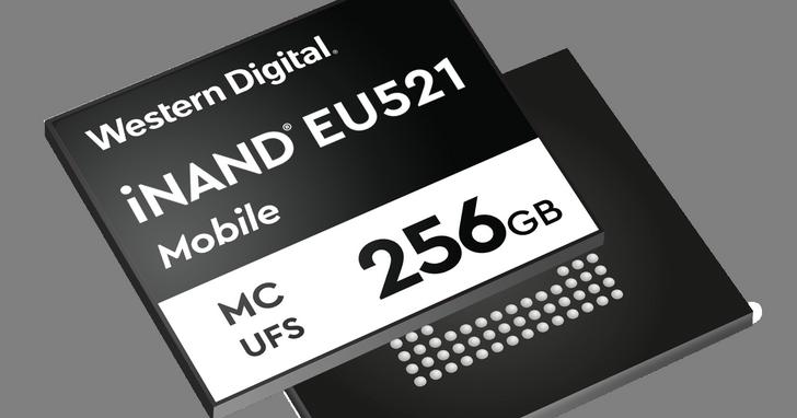 Western Digital發布全新儲存裝置iNAND MC EU521,提供最高800MB/s連續寫入速度