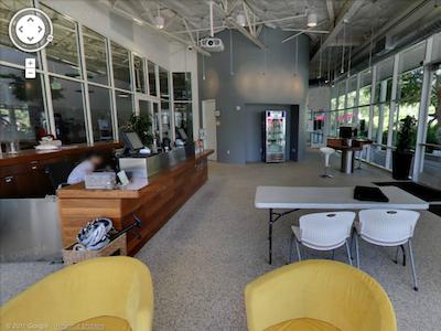 用 Google 街景逛 Google 總部,園區、辦公室都能看到