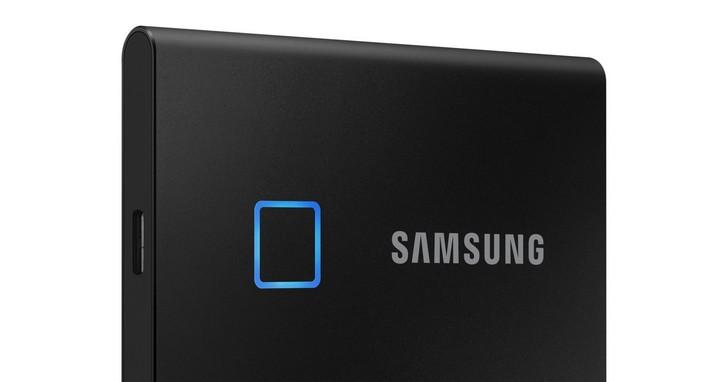 三星推出全新迷你移動固態硬碟Samsung Portable SSD T7 Touch