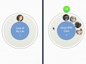 Google+ 社交圈上的愛情故事,她如何分類男人?