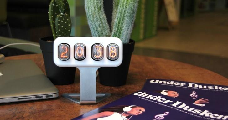 電競風Nixler數字管時鐘,不但有炫炮LED相容Arduino更好玩